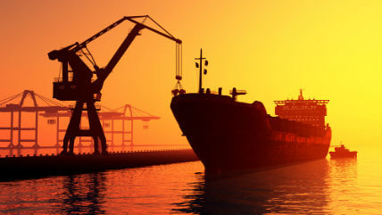 Houston offshore injury lawyer for tanker being loaded at dock