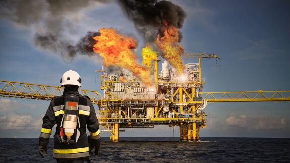 major oil rig explosion