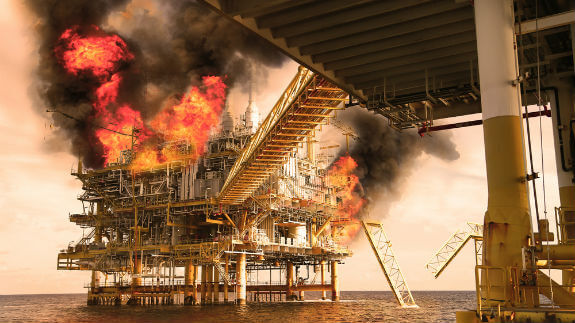 oil rig disaster platform
