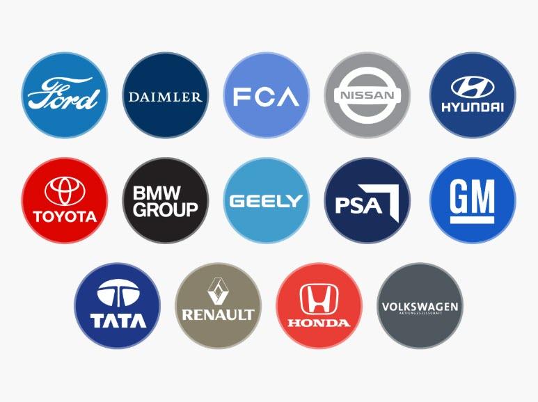 auto companies logos