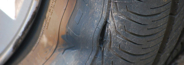 puncture in tire recall